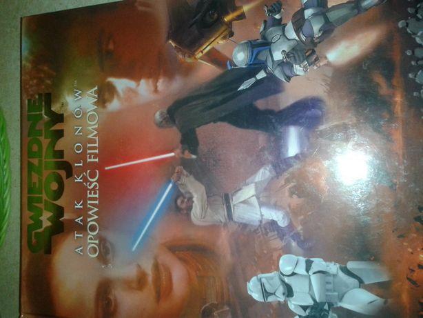 Gwiezdne wojny atak klonów opowieść filmowa