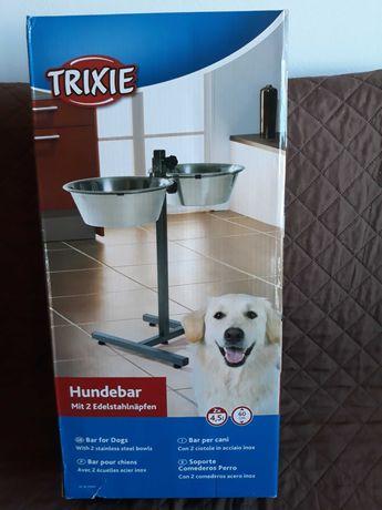 Comedouros Duplos Reguláveis para cães - Trixie