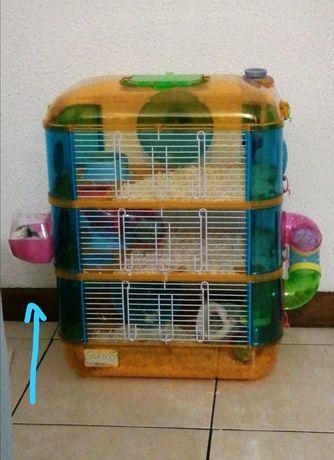 Casa de hamster de luxo