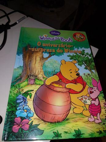 Livro Disney winie the pooh
