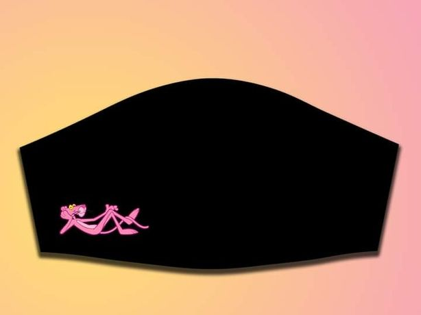 Máscaras personalizadas Pantera Cor-de-rosa