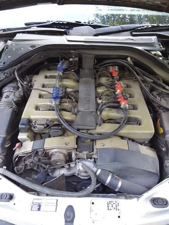 ГБО для V12 (w140, s600)