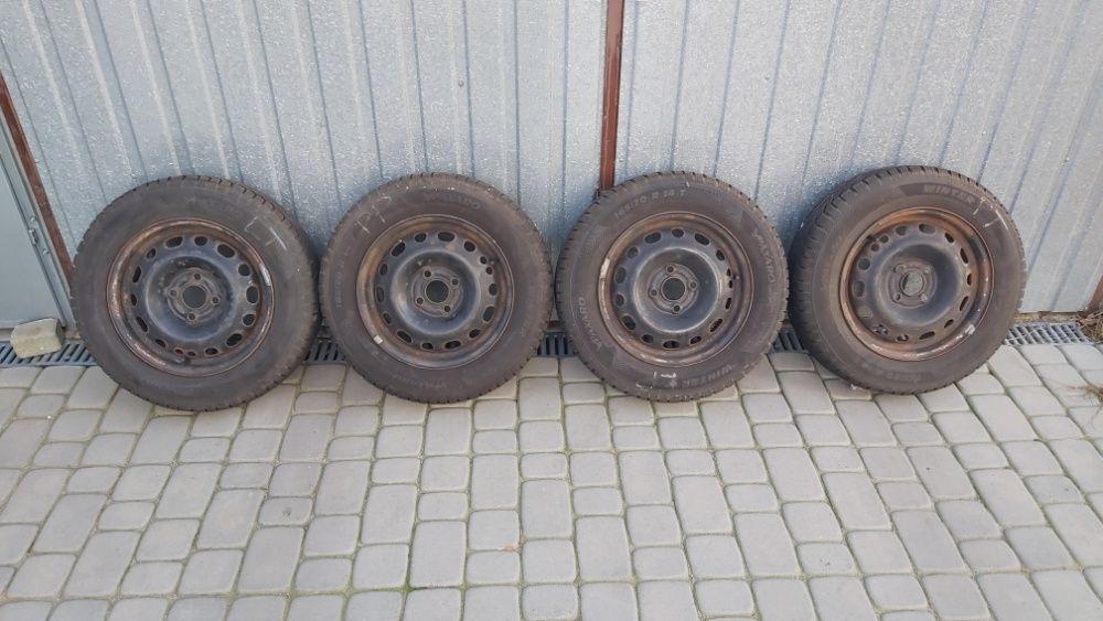 Komplet kół felgi z oponami (opony) 165/70 R14'' 4x100 ET 49 Opel GM Rybnik - image 1