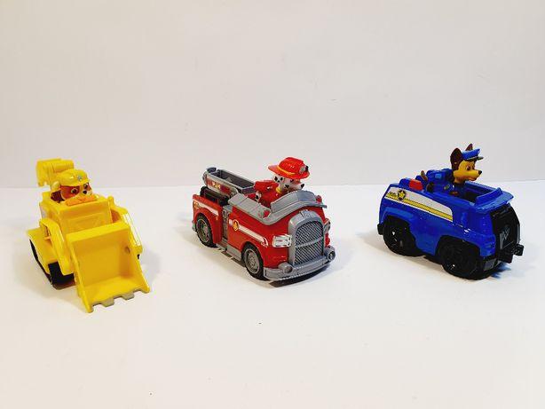 PSI PATROL - 3 Pojazdy + Figurki