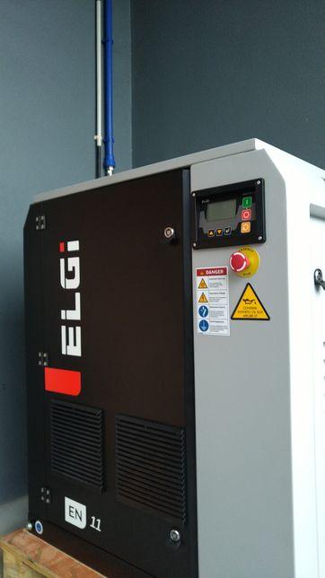 Compressor parafusos ELGI 15Hp variador inverter