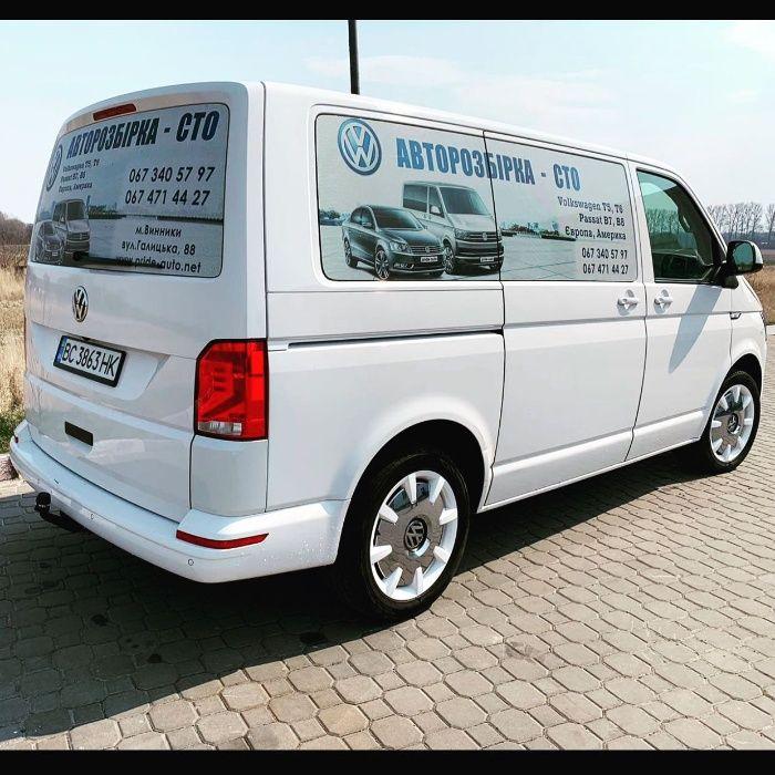 Запчасти разборка шрот Volkswagen T6 бампер фара капот крыло Львов - изображение 1