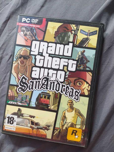 Gra GTA SAN ANDREAS PC dwie płyty + przewodnik
