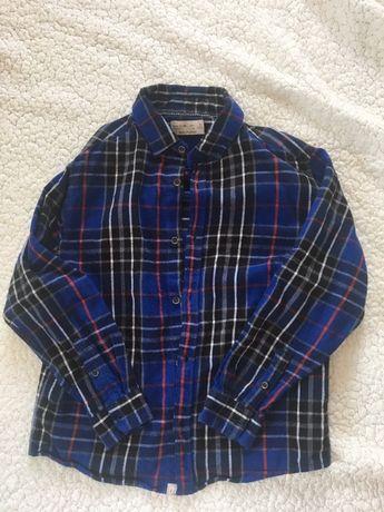 koszula flanelowa, rozmiar 134