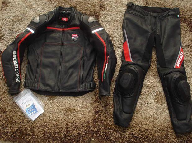 Dainese Ducati 52 Eur L 50 Eur M jak nowy kombinezon motocyklowy oryg