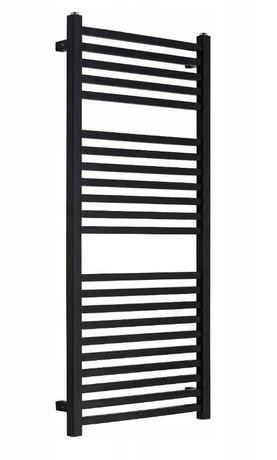 Nowy grzejnik łazienkowy Essence ES-1100x500-B czarny mat