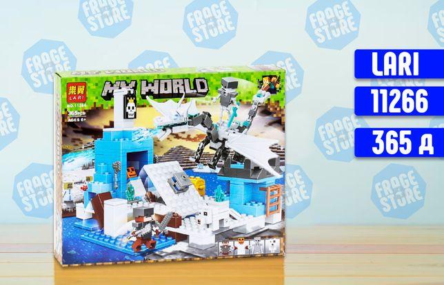 """Конструктор Bela Minecraft 11266 """"Сражение с ледяным драконом"""", 283 д"""