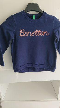 Bluza Benetton granatowa