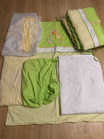 Постіль постель повний комплект в дитяче ліжечко