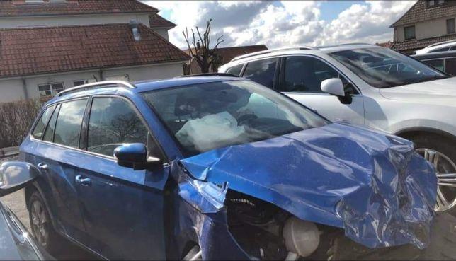 Skoda Fabia 2017*uszkodzony*benzyna