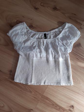 Bluzeczka typ crop top H&M