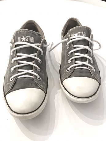 Trampki Converse szare płytkie 40