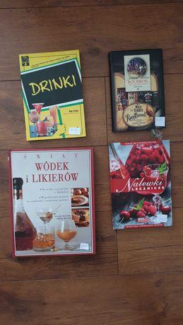 Książki  kulinarne, barmańskie
