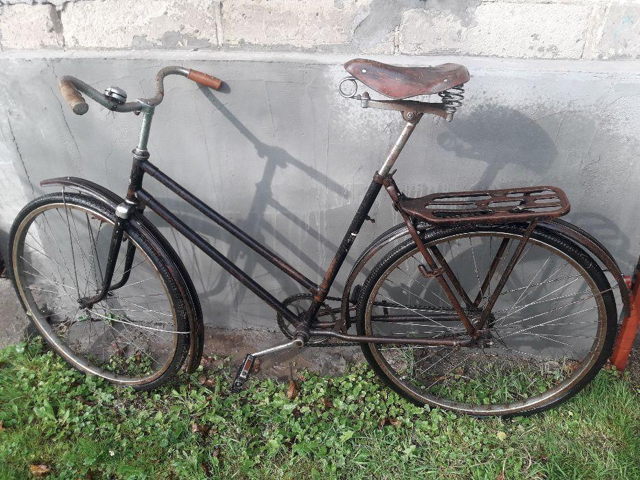 Zabytkowy rower ukraiński Leżajsk - image 1