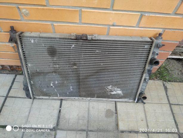 Радиатор вентилятор Daewoo Sens ДЭУ Сенс кондиционер
