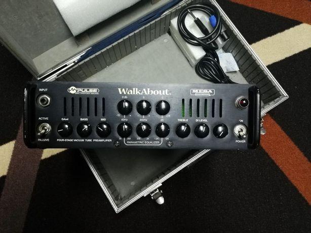 Amp Baixo MesaBoggie WalkAbout