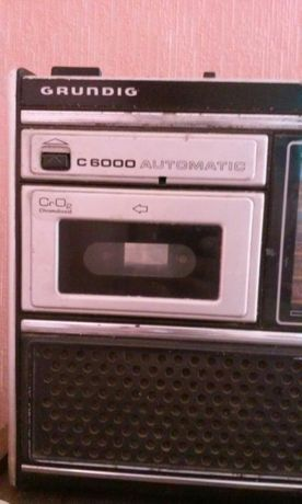Продаю магнитофон, приёмник GRUNDIG C6000