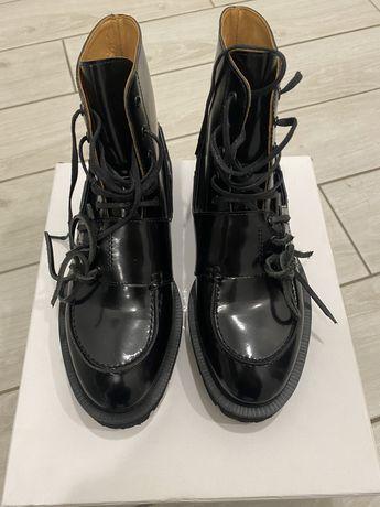 Кожаные ботинки Maison Margiela