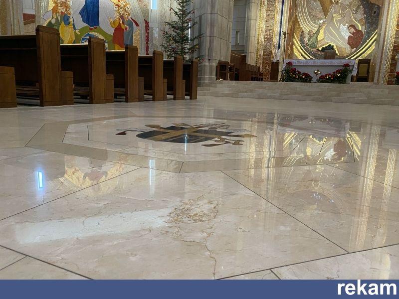 Renowacja posadzek szlifowanie polerowanie granit marmur lastryko Kraków - image 1