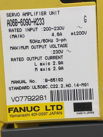 FANUC - Servo Amplifier Unit