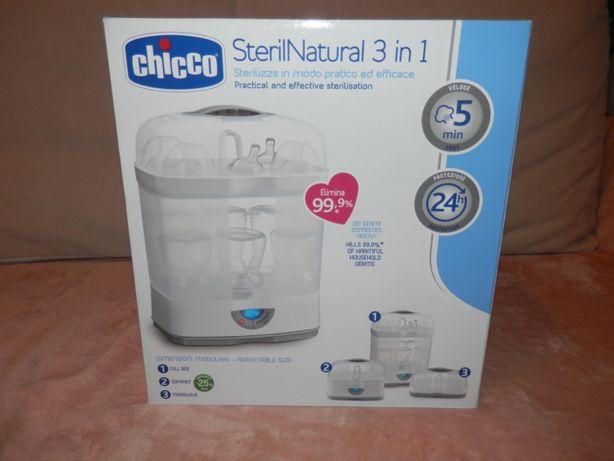 Стерилизатор детских бутылочек для питания Chicco 3в1