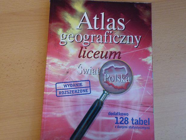 Atlas geograficzny - Liceum