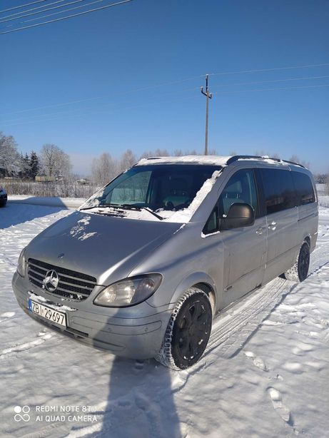 Mercedes Viano 3.0 V6 zamiana na SUV