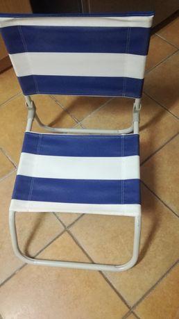 Cadeira de praia em bom estado