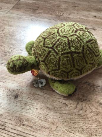 Maskotka kolekcjonerska Steiff - Żółw (Turtle) duża, metka, nowa