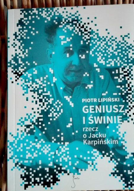 Geniusz i świnie - Lipiński Nowa