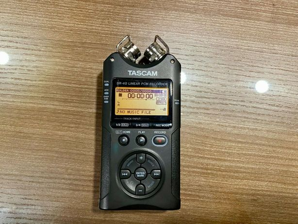 Рекордер диктофон Tascam DR 40 2 XLR входа аналог Zoom H4N H2N