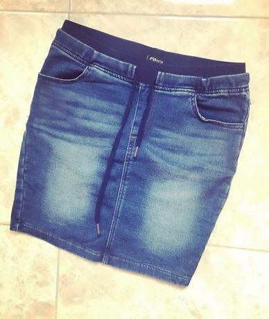 Новая джинсовая юбка (подходит беременным)
