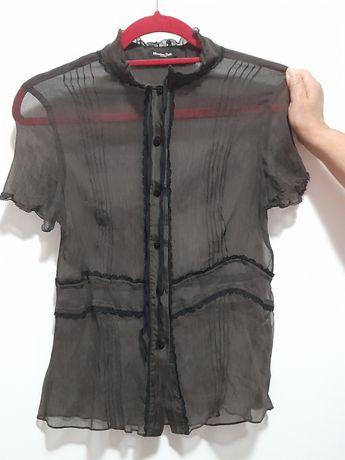 Blusa transparente S