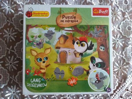 Puzzle Gang Słodziaków