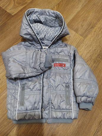 Детская куртка осень