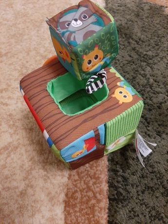 Детские развивающие кубики