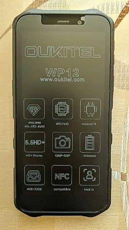 Смартфон OUKITEL WP12  - 5.5дюймa -  4/32Гб - 13/8Мрх - Android 11