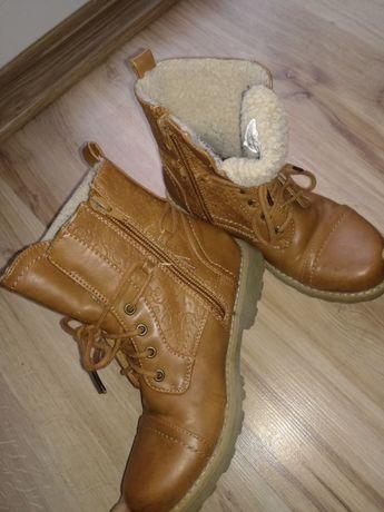 Buty skórzane r.32