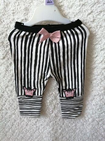 Leggi getry spodnie 68