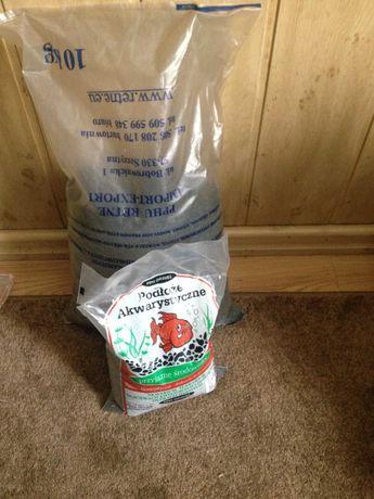 Żwir bazaltowy czarny do akwarium 12kg
