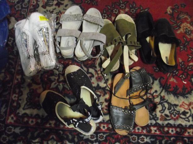 Buty damskie rozm 38 zestaw 6 par - po 8 zł para kupując całość