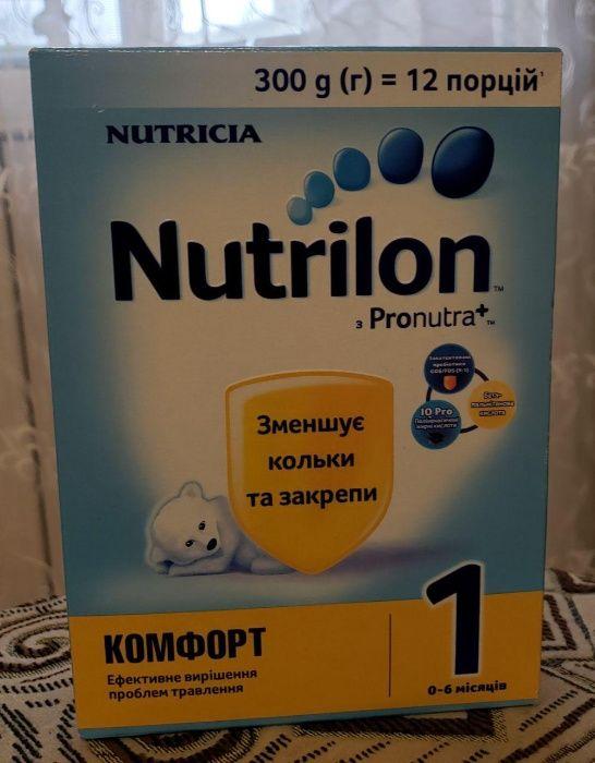 Сухая молочная смесь Nutrilon Комфорт 1, 300 г Киев - изображение 1