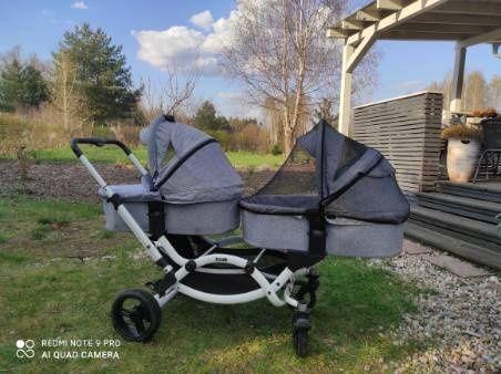 Wózek bliźniaczy ABC design ZOOM