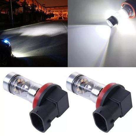 Автомобильные Противотуманные лампы лед HB3 HB4 H8 H11