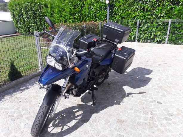 BMW F650GS motor 2 cil 800cc 16000km full-extras - TROCO