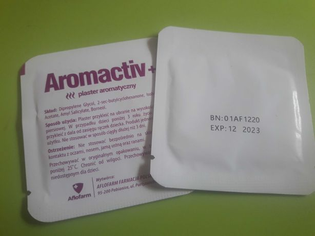 Plasterki aromactiv